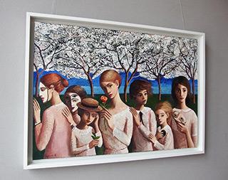 Katarzyna Karpowicz : Family Portrait : Oil on Canvas