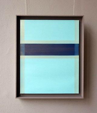 Anna Podlewska : Kind of blue No 1 : Oil on Canvas