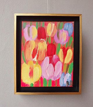 Beata Murawska : Touch of the morning : Oil on Canvas