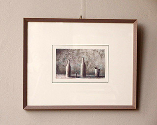Łukasz Huculak : Melancholic objects : Tempera on paper