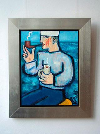 Krzysztof Kokoryn : Sailor : Oil on Canvas