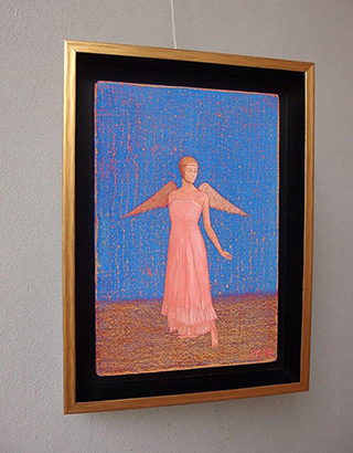 Mikołaj Kasprzyk : Follow me : Oil on Canvas