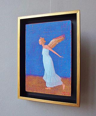 Mikołaj Kasprzyk : Into flight : Oil on Canvas