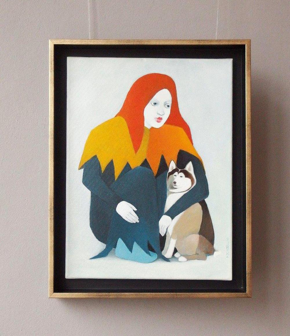 Katarzyna Castellini : Clown with a dog