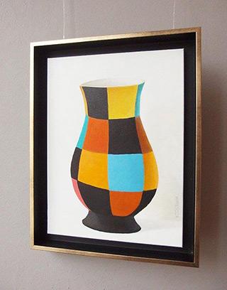 Katarzyna Castellini : Vase : Oil on Canvas