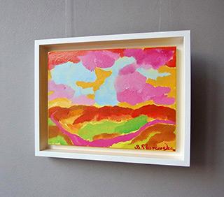 Beata Murawska : Candy landscape : Oil on Canvas