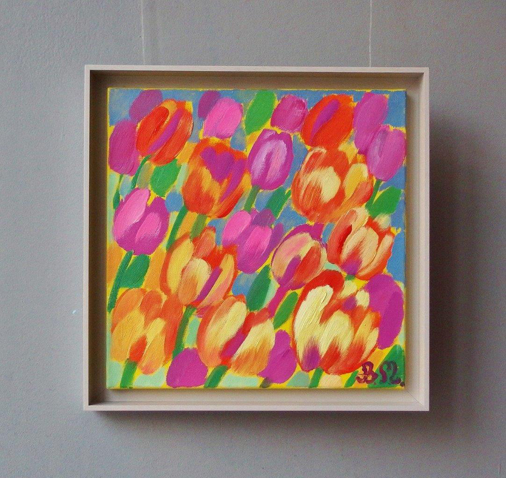 Beata Murawska : Tulips in the morning