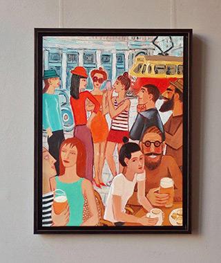 Krzysztof Kokoryn : View from Charlotte : Oil on Canvas