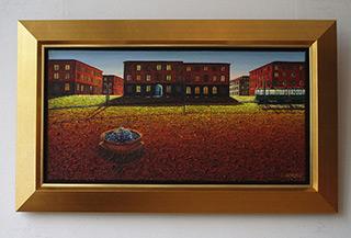 Adam Patrzyk : Tram : Oil on Canvas