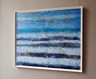 Martyna Merkel : Seaside disorder : Acrylic on canvas