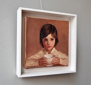 Katarzyna Karpowicz : Breakfast : Oil on Canvas