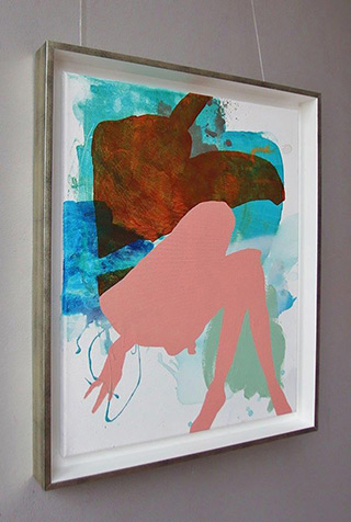 Agnieszka Sandomierz : Undressing : Acrylic on canvas