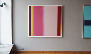 Anna Podlewska : Phases in pink : Oil on Canvas