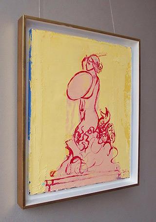 Jacek Łydżba : Mermaid : Oil on Canvas