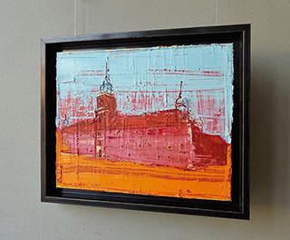 Jacek Łydżba : Royale Castle : Oil on Canvas