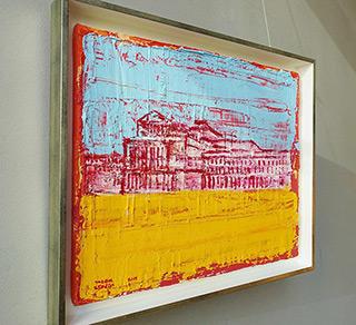 Jacek Łydżba : Theater Square : Oil on Canvas