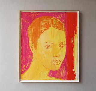 Jacek Łydżba : Young women : Oil on Canvas