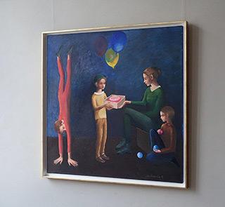 Katarzyna Karpowicz : Birthday : Oil on Canvas