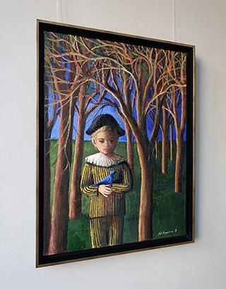 Katarzyna Karpowicz : Blue bird : Oil on Canvas