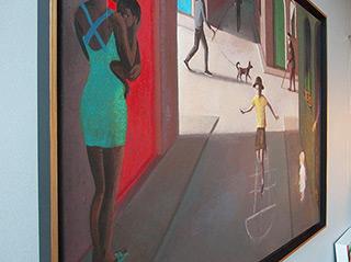 Katarzyna Karpowicz : Hopscotch : Oil on Canvas