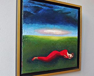 Katarzyna Karpowicz : Peaceful sleep : Oil on Canvas