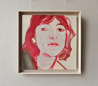 Katarzyna Swinarska : Charlotte : Oil on Canvas
