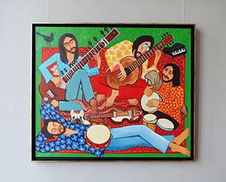 Krzysztof Kokoryn : The Beatles : Oil on Canvas