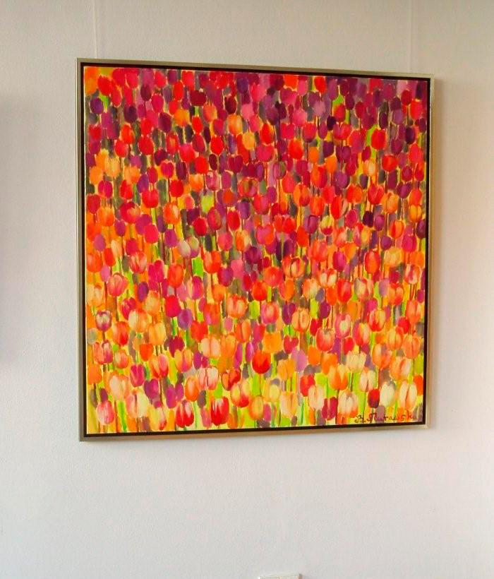 Beata Murawska : Tulips square
