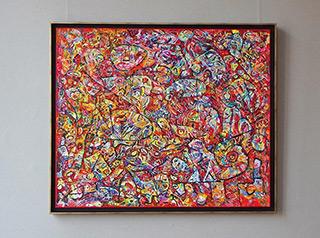 Krzysztof Pająk : Sabata : Oil on Canvas