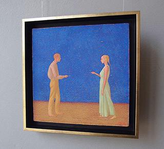 Mikołaj Kasprzyk : Exchange : Oil on Canvas