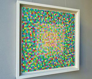 Zofia Matuszczyk-Cygańska : Juicy green : Oil on Canvas