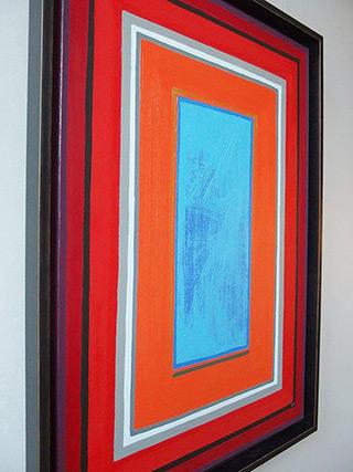 Łukasz Majcherowicz : Storm : Oil-resin technique on canvas