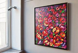 Beata Murawska : Hot night : Oil on Canvas