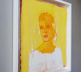 Jacek Łydżba : Girl : Oil on Canvas