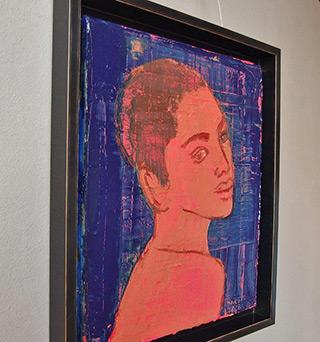 Jacek Łydżba : Mulatto : Oil on Canvas