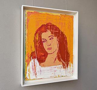 Jacek Łydżba : Redhead girl : Oil on Canvas