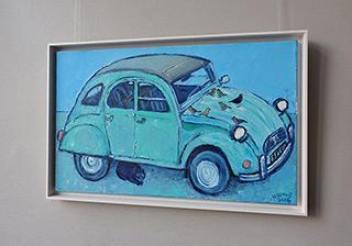 Krzysztof Kokoryn : Citroen : Oil on Canvas