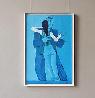 Krzysztof Kokoryn : Couple : Oil on Canvas