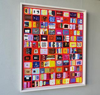 Krzysztof Pająk : Alphabet 2 : Oil on Canvas