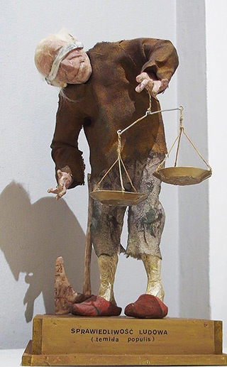 Leszek Jasiński : People's justice : Ceramics