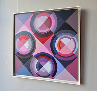 Małgorzata Jastrzębska : Painting No 629 : Oil on Canvas