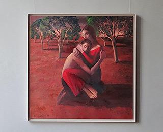 Katarzyna Karpowicz : Lovers : Oil on Canvas