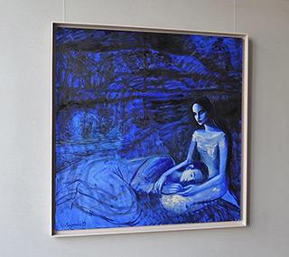Katarzyna Karpowicz : Nocturne over the Danube : Oil on Canvas