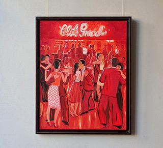 Krzysztof Kokoryn : Club Gricel : Oil on Canvas