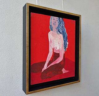 Agnieszka Sandomierz : Long haired : Oil on Canvas