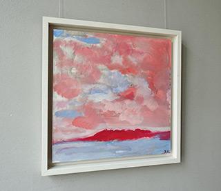 Beata Murawska : Pink morning : Oil on Canvas