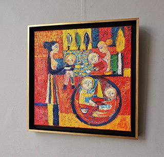 Darek Pala : Playground : Oil on Canvas