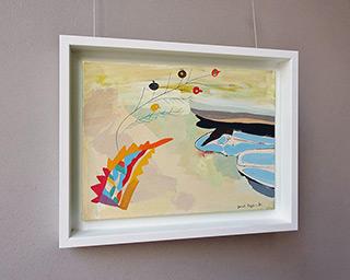 Jacek Cyganek : Piece of sky : Tempera on canvas