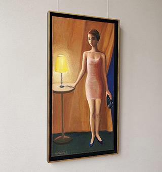 Katarzyna Karpowicz : Night light : Oil on Canvas