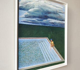 Katarzyna Karpowicz : Waiting for the answer : Oil on Canvas